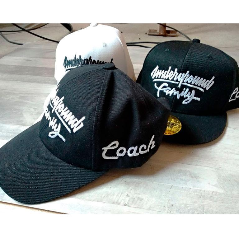 Вышивка логотипа на кепке