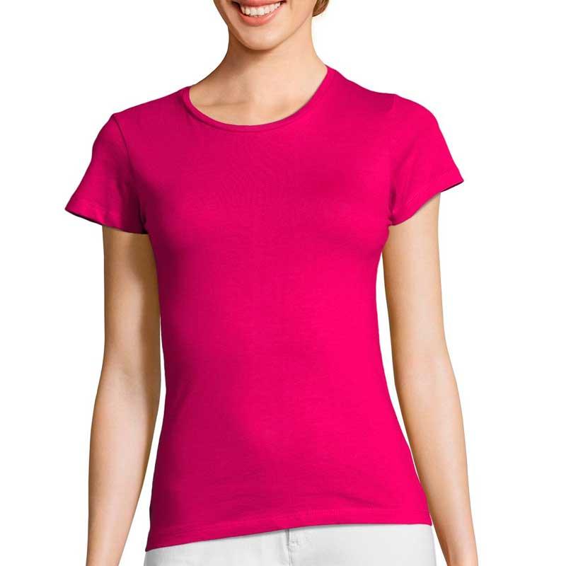 футболка солс для нанесения логотипа женская