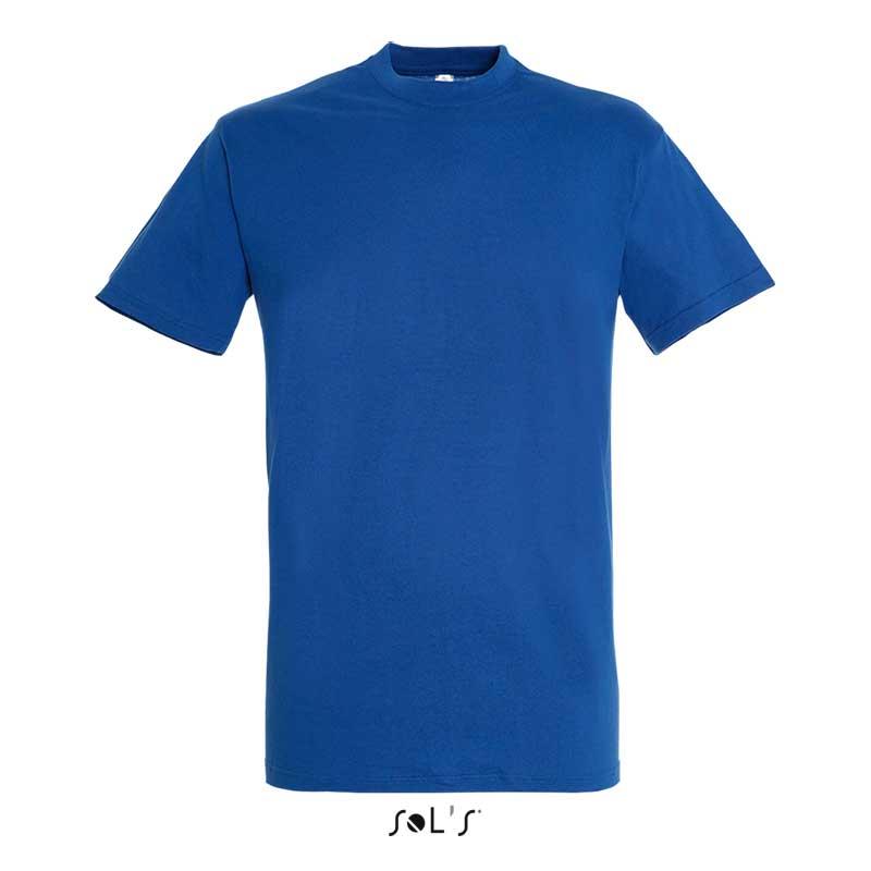 васильковая футболка