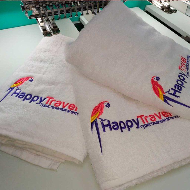 заказать полотенце с логотипом
