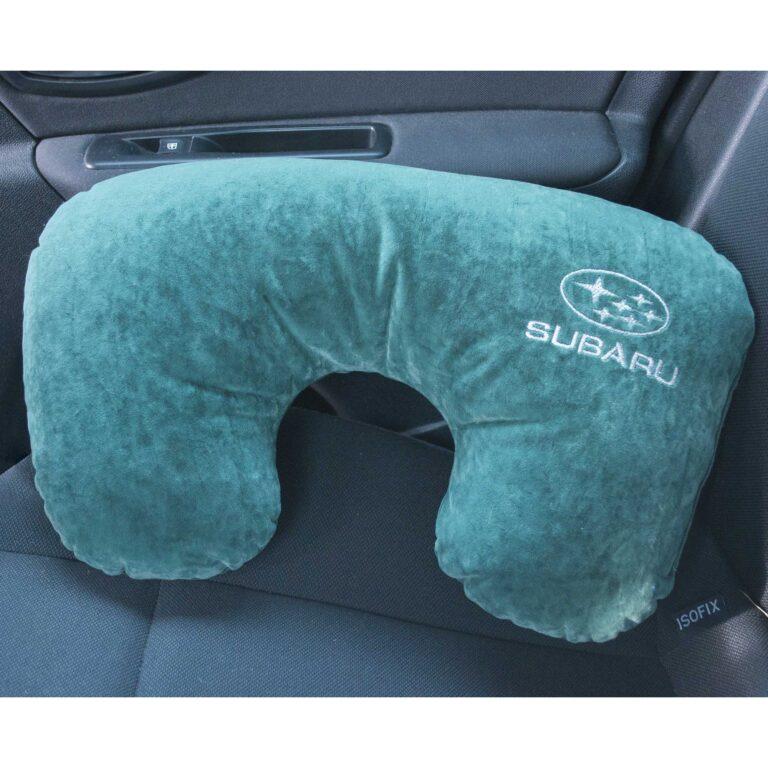 автомобильная подушка с логотипом