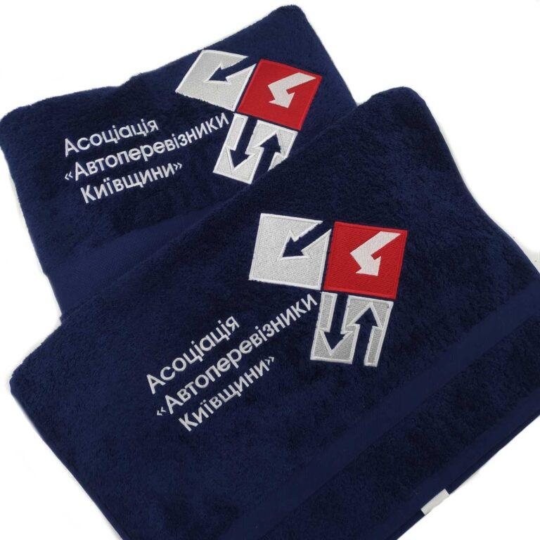 рушники з логотипом