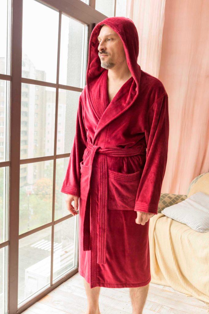 махровые халаты с логотипом
